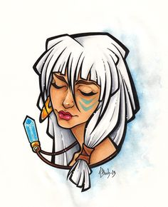 Princess Kida by BlueUndine.deviantart.com on @deviantART