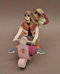 Illustration for Libelle Netherlands Magazine by Chloé Fleury