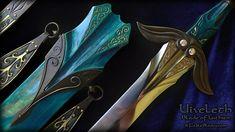Jrr Tolkien Silmarillion, Luthien, Swords And Daggers, Elvish, Fantastic Art, Awesome, Knives And Tools, Sword Art Online, Lotr