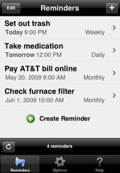 TextMinder allows you to schedule SMS text reminders to be sent to you at the times you specify, repeating as often as you choose. Remind yo...
