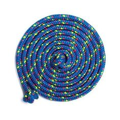 16' Double Dutch Jump Rope - Blue Confetti Just Jump It