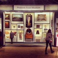 Peabody Essex Museum Loan Exhibition #winterantiquesshow (from winterantiquesshow on Instagram)
