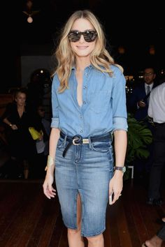 Olivia Palermo Loves Pinterest - NYFW Spring 2015