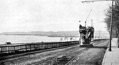 Tour Scotland Photographs: Old Photograph Tram From Invergowrie To Ninewells Dundee Scotland