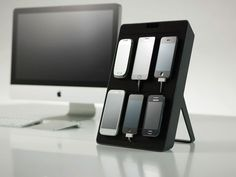 How convenient is this device stand? This would make development a breeze!