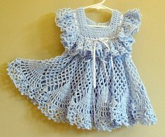 crocheted baby dress *inspiration