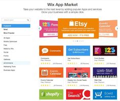 Wix review app market extend your site's functionality
