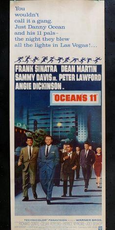 Ocean's 11 - US Insert card stock