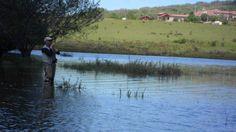 #Pescando en San Glorio en la provincia de León