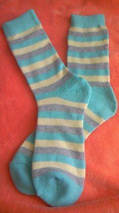 靴下ベビーレギンス作り方① Refashion, Socks, Kids, Baby, Handmade, Diy, Repurpose, Young Children, Boys