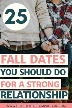 Creative and romantic fall date ideas for every couple. Dates keep our relationships strong, and this list has so many things to do at home or outdoors. Even cheap and frugal activities! Marriage Goals, Happy Marriage, Marriage Advice, Happy Relationships, Strong Relationship, Relationship Advice, Busy Life, Happy Life, Autumn Activities