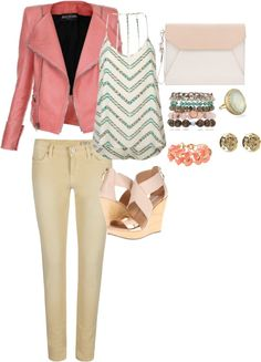 """""""more peach please"""" by zippy7flaca on Polyvore"""