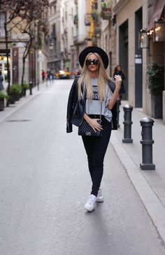 Leather Jacket, Chanel Boy Bag