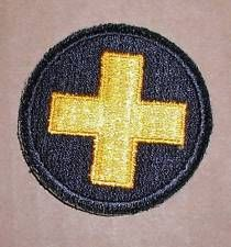 WW2 ERA US ARMY THIRTY-THIRD DIVISION INSIGNIA PATCH