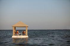 Floating Pavilion at Puri Santrian, Sanur, Bali
