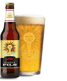 Saranac Brewery Summer Pils