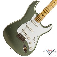 2014 Fender Custom Shop Master Design '50's Stratocaster, Moss Green | Available EXCLUSIVELY at Garrett Park Guitars | www.gpguitars.com