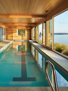 Hudson Valley Country House By Fractal Construction Pinterest Indoor Pools House And