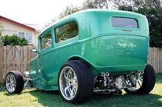Hot Little Machine. Classic Hot Rod, Classic Cars, Hot Rods, Carros Audi, Traditional Hot Rod, Hot Rod Trucks, Street Rods, Custom Cars, Hot Wheels