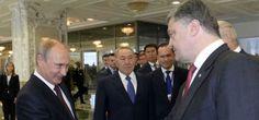 Putin y Poroshenko se ven las caras