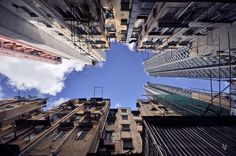 Worm's Eye View Photographs Show Hong Kong Like You've Never Seen It Before — Or Maybe You Have