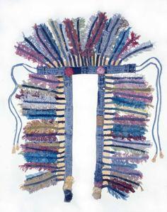 Blue Jeans Headdress| Ann Carrington