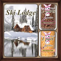 "Ski Lodge ~ Pink Zebra ""recipe"" you can make my mixing multiple Sprinkles scents together."