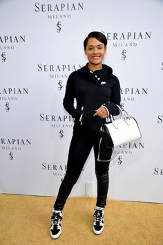 Grace Gealey attends Serapian Milano Opens First Store in U.S. at Serapian on June 3, 2015 in Beverly Hills