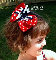 Shoply.com -4th of July Stars Specialty Bow. Only $7.50