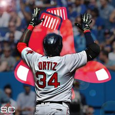 David Ortiz joins Ted Williams and Carl Yastrzemski as only Boston Red Sox players with 500 doubles and 400 HR. (via Elias Sports Bureau)