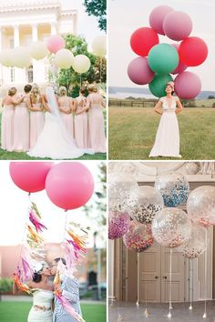Where to buy giant balloons for weddings | www.onefabday.com