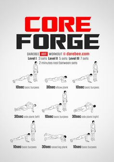 Core Forge Workout