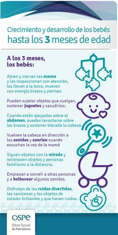 Crecimiento de los #bebes hasta los 3 meses #Salud #OSPe