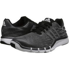 adidas A.T. 360.2 Prima Women's Cross Training Shoes (€40) ❤ liked on Polyvore featuring shoes, athletic shoes, black, breathable shoes, black lace up shoes, adidas, black training shoes and black cross trainer shoes
