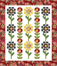 Free Quilt Pattern: Blossoms - I Sew Free