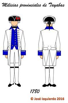 Milicias Provinciales de Tayabas, 1780