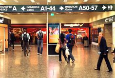 Milano Malpensa Airport, Terminal 1: #DigitalSignage System by #DOOH_IT