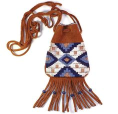 Beaded Possibles Bag  Native American by PTurnbullandBishop, $150.00