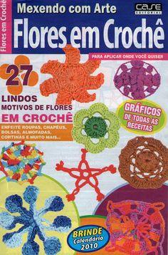 Mexendo com Arte - Flores em Crochê - Vida Pink - Picasa Web Albums