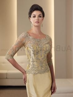 Gold Mother Of The Bride Dresses Discount