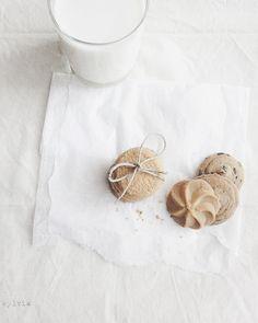 Milk and cookies by Sylvia Houben, so sweet!