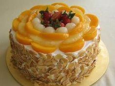 Εύκολη τούρτα με κομπόστα