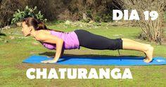 Día 19 - Chaturanga Challenge #malovayogachallenge1