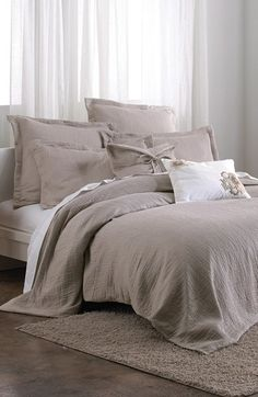 DKNY 'Pure - Indulge' Duvet Cover available at #Nordstrom