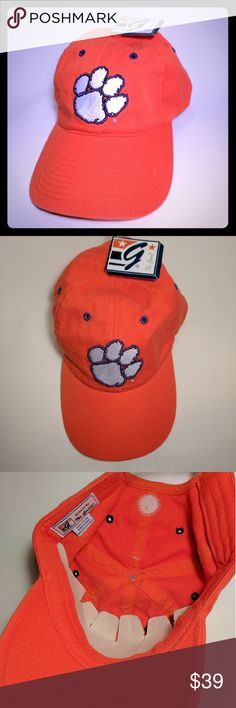 New With Tags Clemson Tigers Strap Back Cap New condition. The  Accessories Hats