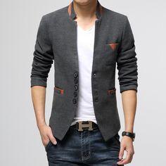 Mens Slim Fit Blazer Jackets  #LatestTrends #WinterClothing #MenJackets #WomenJackets #Hoodies #bestdeal