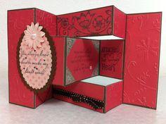 Tri shutter friendship, love, card