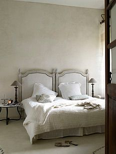 Holiday House in the Languedoc, France, featured on Remodelista Decor, Furniture, Guest Bedrooms, House, Home Bedroom, Home Decor, House Interior, Bed, Vacation Home Rentals