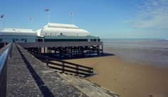 burnham on sea pier. This has been listed as the shortest pier in the U. Glastonbury Tor, Aberystwyth, Cathedral City, Burnham, Somerset, Places Ive Been, Beautiful Places, Places To Visit, Around The Worlds