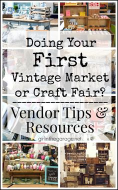 Doing Your First Vintage Market or Craft Fair? {Vendor Tips & Resources}